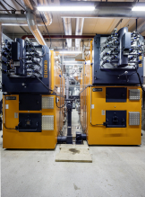 Industrial System Holzfeuerung-Embrach