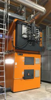 Industrial System Holzfeuerung-Diemtigen