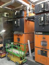 Industrial System Holzfeuerung-Wilderswil