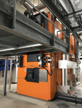 Industrial System Holzfeuerung-Weidspital Käferberg