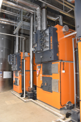 Industrial System Holzfeuerung-Flugplatz Payerne